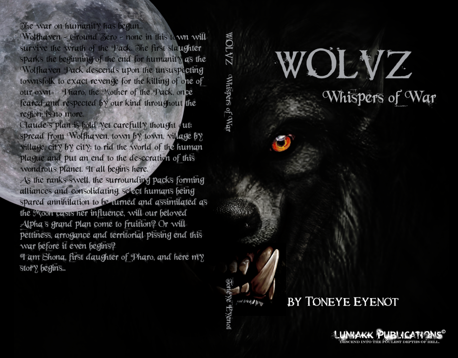 COVER REVEAL! WOLVZ – WHISPERS OFWAR