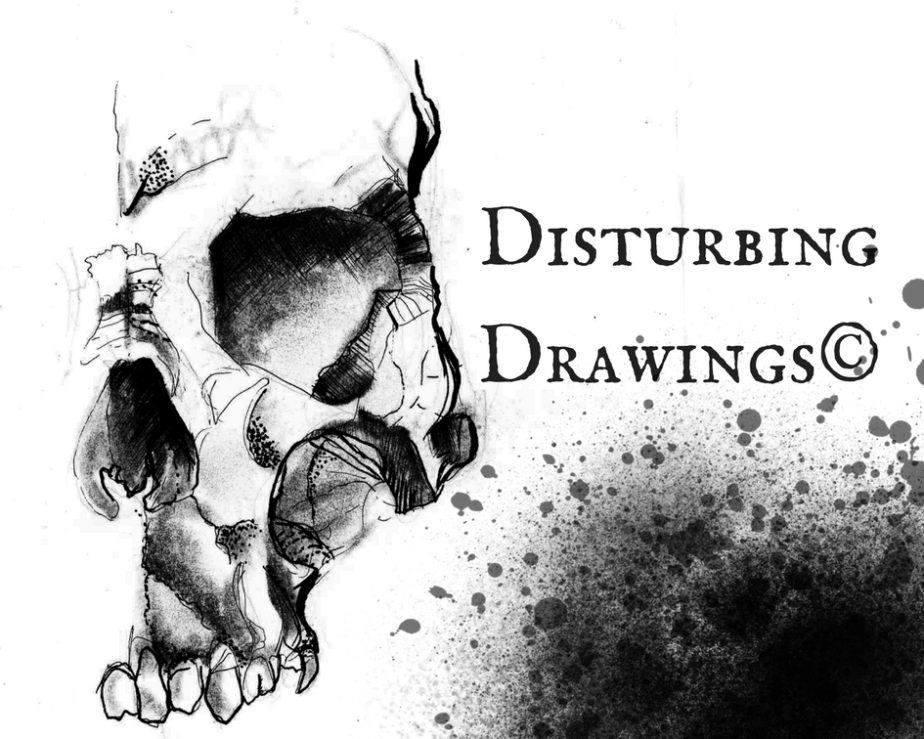 Some drawings —horror.