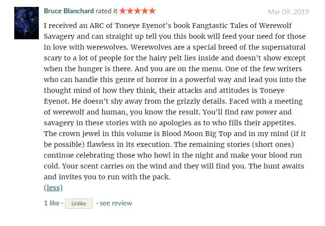 Fangtastic review